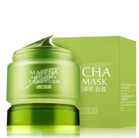 Longjing Matcha Green Mud Mask Mud Whitening Anti-Aging Anti Wrinkle Moisturizing Nourish Oil Control