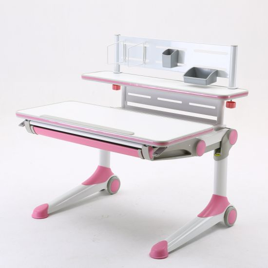 Foshan Kids Study Table and Chair with Ergonomic Design