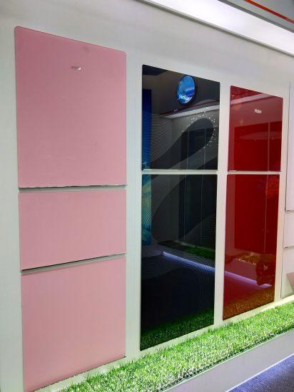 Refrigerator Decorative Silk Screen Printing Glass Panel