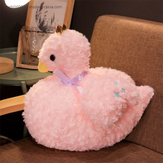 Wholesale Soft Plush Animal Toy Swan for Kids
