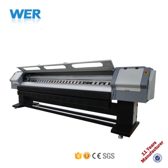 3.2 Meters Inkjet Large Format Printer Digital Flex Banner Printing Machine