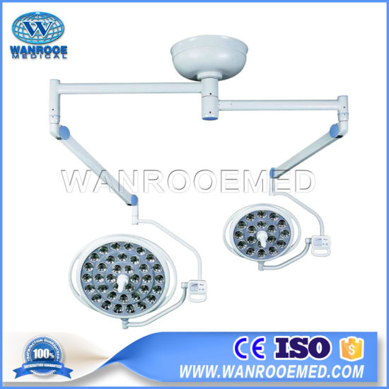 Aled7050 Electric Focusing Mobile Type LED Operation Light Surgery Lamp with Camera System