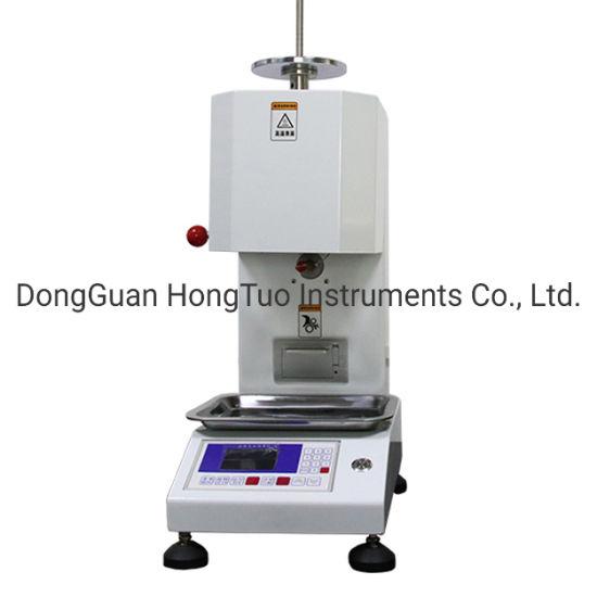 DH-MI-BP Thermoplastics Melt Index Tester, Automatic / Manual Cut MFI Testing Machine, Plastic Testing Equipment