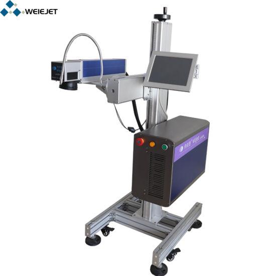 30W Hight Speed Fiber Laser Marking/ Engraving Machine for PVC Pipe/Aluminium Product/Battery Wood Printing Machine Printer