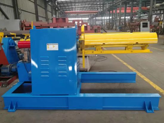 Full Auto Roll Forming Machine with 5ton*1250mm Un-Coiler