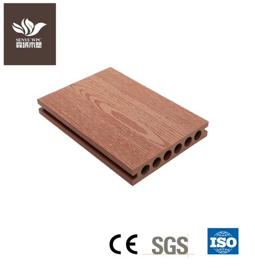 Wood Grain Wood Plastic Composite WPC Decking Board