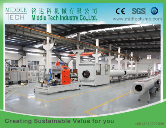 (China wholesale) Plastic PVC/UPVC (315-630mm) Tube/Pipe Extrusion Production Line : plastic pipe production line - www.happyfamilyinstitute.com