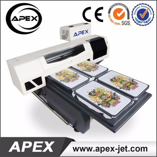 Best Price 60*90cm Digital Flatbed Printing Machine for Textile Garment T-Shirt Shoe pictures & photos