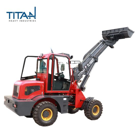 Hot Selling OEM Telescopic Loader with Turn Table with luxurious cab