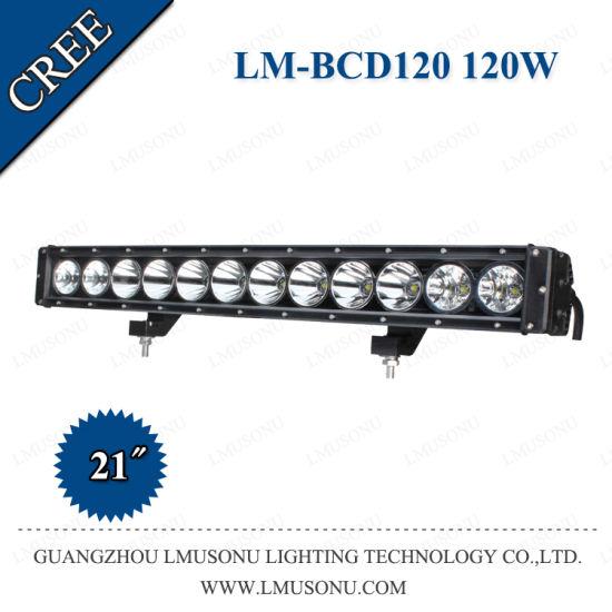 60W 120W 180W 240W CREE 10W Single Row Straight LED Light Bar with Day Light