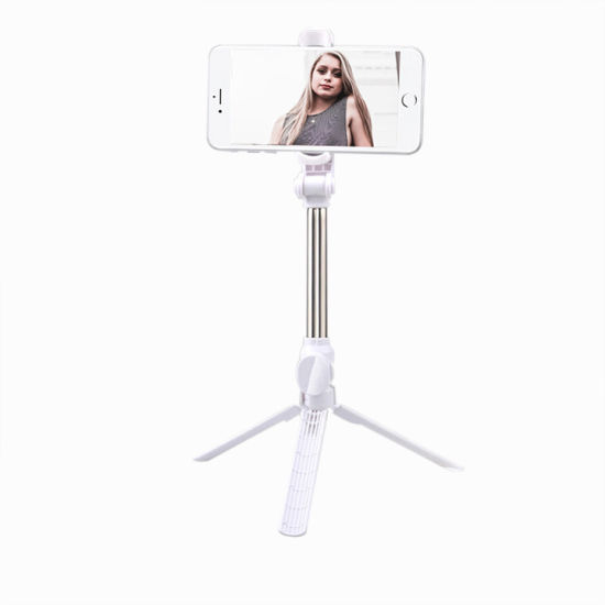 "7""-30"" Length Adjustable Bluetooth Shooting Selfie Stick Mobile Phone Selfie Stick Tripod"