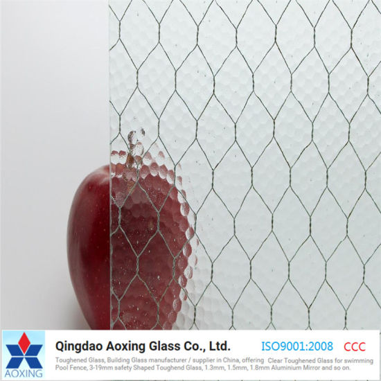 China 6mm 6.5mm Top Quality Wire Reinforced Glass - China Pattern ...