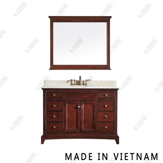 China 48 Inch Luxury Natural Stone Top, What Size Mirror For A 48 Inch Vanity