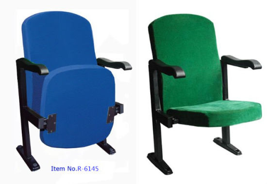 Auditorium Seating Auditorium Seat, Plastic Auditorium Seat Auditorium Seating, Conference Hall Chairs, Push Back Auditorium Chair (R-6145) pictures & photos