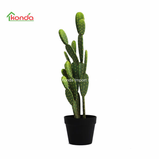 Large Artificial Plant Opuntia Cactus Garden
