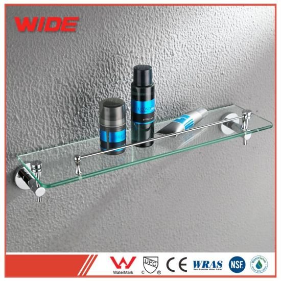 China Household Bathroom Accessories Wc Glass Holder with Stainless ...