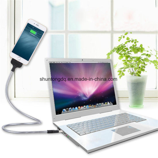 Flexible Stand up USB Charging Stands Cable Phone Charger Holder for Apple iPhone Samsung Huawei Android Phone Holders P0.11 pictures & photos