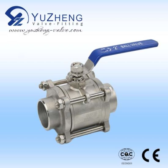Stainless Steel Clamp End Floating Ball Valve pictures & photos