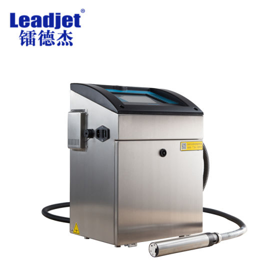 Leadjet 1-4 Lines Cij Inkjet PVC Pipe Printing Machine