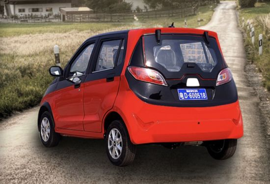 Factory Wholesale Utility 4 Wheel Electric Mini Vehicles Car pictures & photos