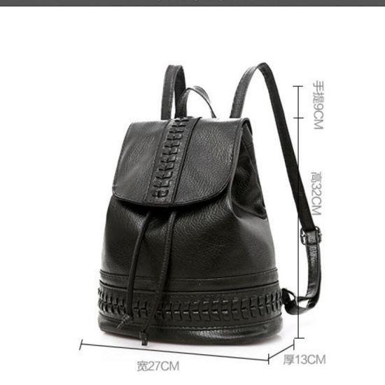 ac551fba7613 Hot Ms. Fashion Black Handbags 2018 New PU Soft Leather Shoulder Messenger  Bag Luxury Designer
