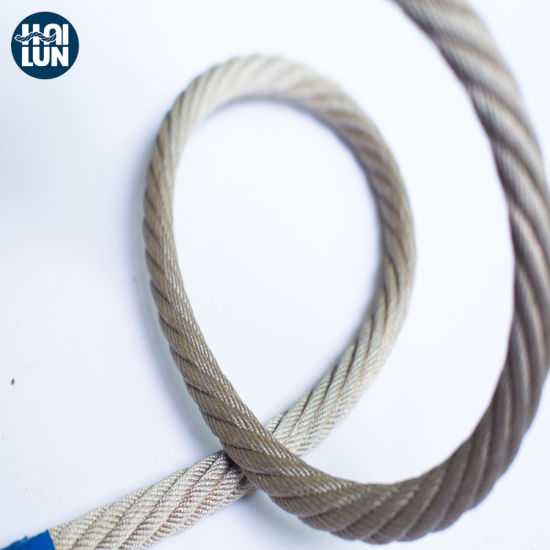 Combination PP Rope with Steel pictures & photos
