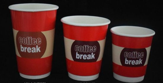 Single Wall Coffee Paper Cup with Single PE pictures & photos