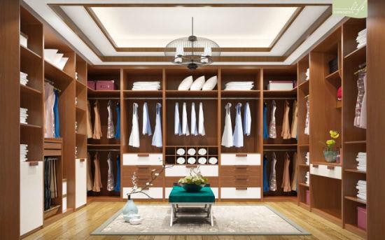 China Modern Design Cloakroom Closet For Bedroom Furniture V48WS0048 Magnificent Closet In Bedroom Decor Property