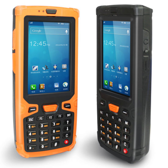 Rugged Android 2d Barcode Scanner Handheld With Wifi Bluetooth Gps 3g