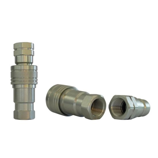 NAIWO Steel Quick Connects Couplings ISO-a 2'' Bsp Hydraulic Hose Coupler