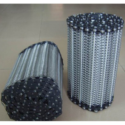 Stainless Steel Conveyor Belt for Food Processing, Heatreatment Industry