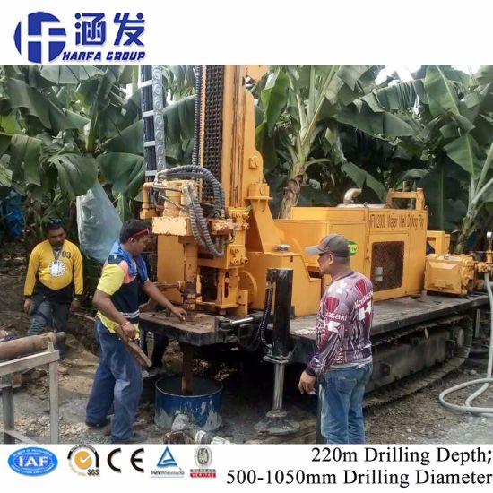 Hfw200L Full Hydraulic Top Driving Water Well Drilling Machine for Sale pictures & photos
