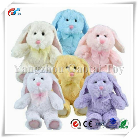China Greenbrier Multipack Of 6 Floppy Eared Plush Bunny Animals