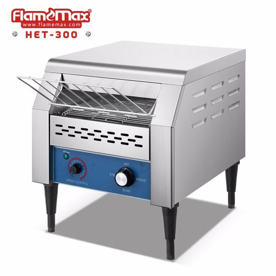 124f9d933 Hot Sale Electric Commercial Conveyor Toaster for Bread Maker (HET-300)  pictures