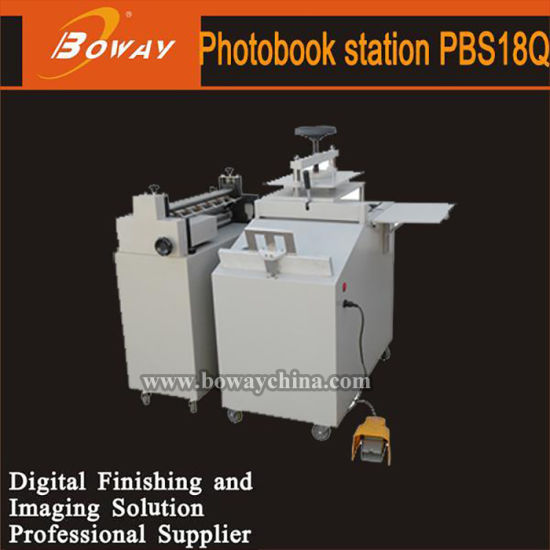 Boway Hard Cover Manu Photo Book Album Maker Station Making Machine Pbs18q pictures & photos