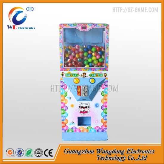 Chinese Kids Games U Type Gashapon Vending Machine 45mm Ball pictures & photos