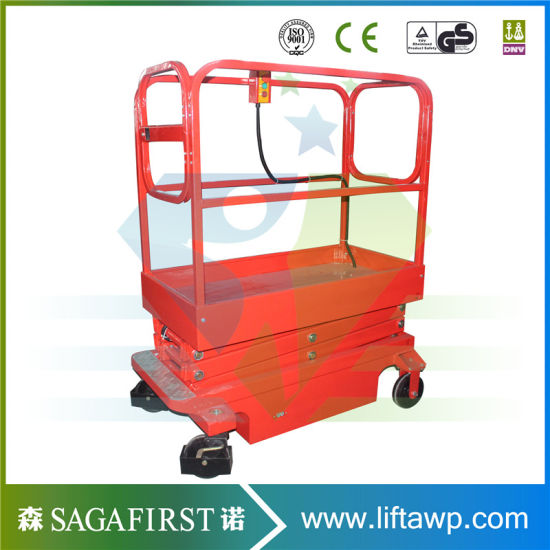 China 3m 4m Small Mini Scissor Lift Platform China Mini Scissor