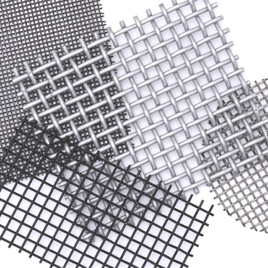China Low Price Stainless Steel Wire Mesh Screen Plain Weave - China ...