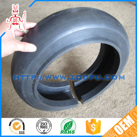 China OEM Heat Resistant NBR Rubber Ring Type Shock Absorber Buffer