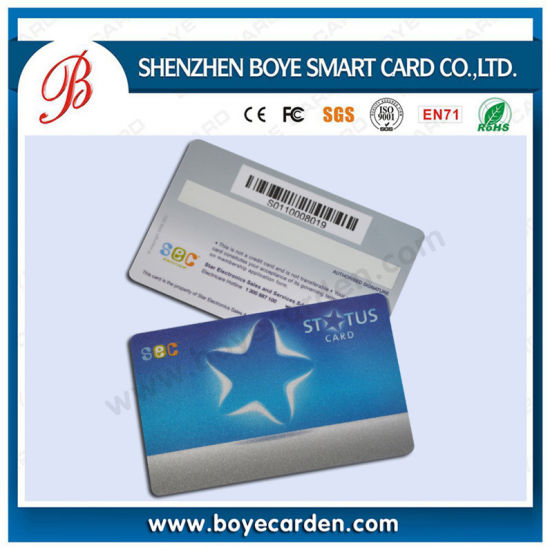 Printed Plastic RFID Contactless Smart Key Cards pictures & photos