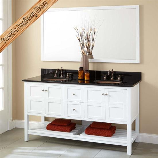 Fed 356 60 Inch High Quality Modern Hotel Bathroom Vanities