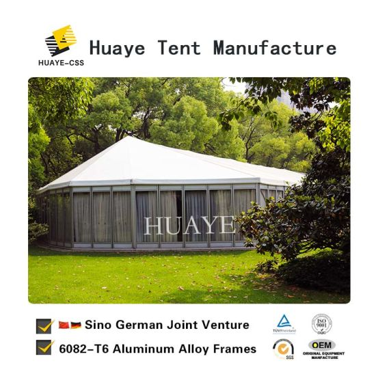 Luxury Customized Outdoor Wedding Party Event Tent with Glass Wall pictures & photos