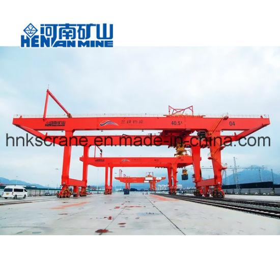 36 Ton 40 Ton 50 Ton Double Girder Container Gantry Crane
