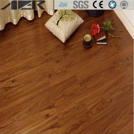 China Pvc Vinyl Self Adhesive Plank Plastic Laminated Spc Flooring