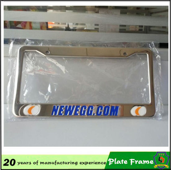 Cheap Custom Metal Car License Plate Frame pictures & photos