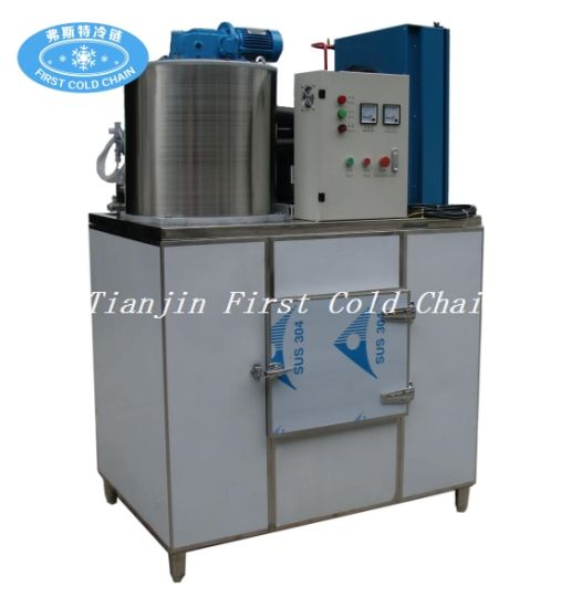Industrial Ice Plants 1.5t/24h Flake Ice Maker for Fish Meat pictures & photos