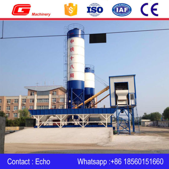 Multifunctional Concrete Mixing Plant Hzs75 with Factory Price pictures & photos