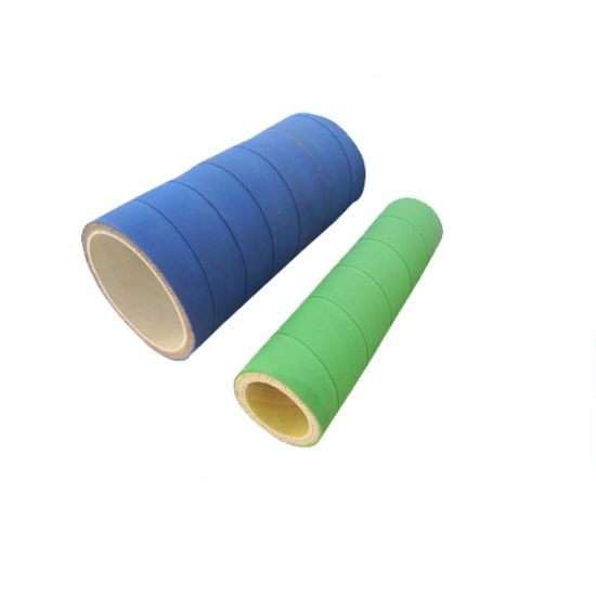 Green / Blue Acid and Alkali Resistant Flexible UHMWPE Rubber Chemical Transfer Hose pictures & photos
