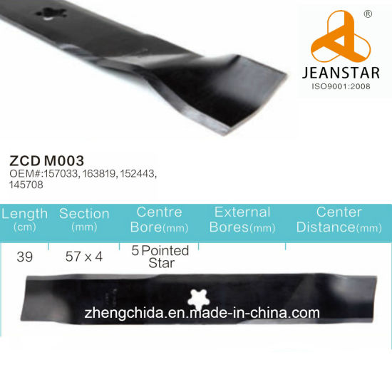 Wholesale Ayp Lawn Mower Blade Replacement/Zcd-Ayp-M003