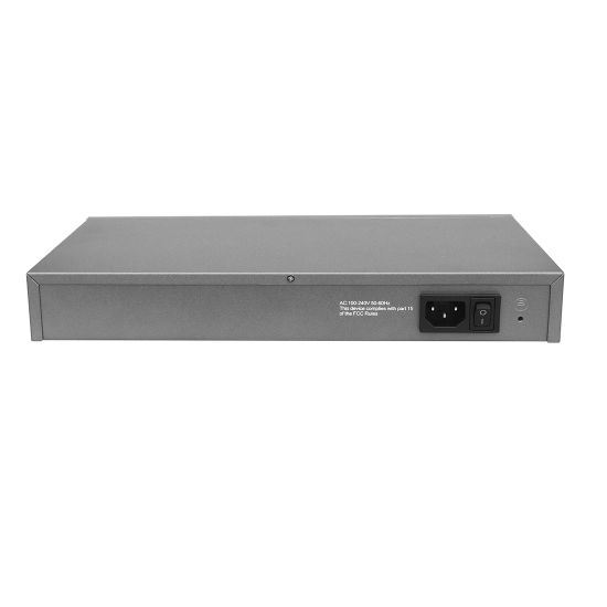11 Port Poe Rack-Mount 10/100Mbps Poe Switch with 8 Port Fe Poe and 3 100m Uplink Internal Power pictures & photos